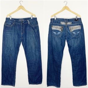 Robin's Jeans Mens Sturgis Size 38